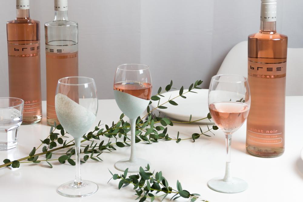 DIY Glas färben