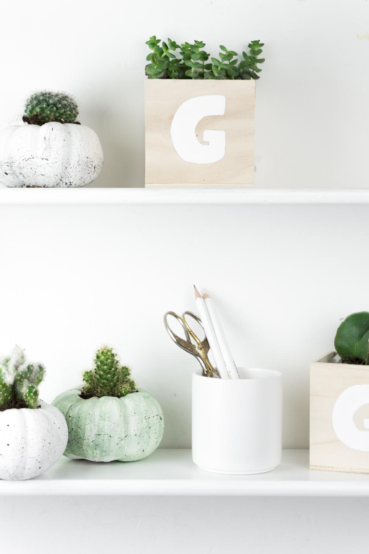 schereleimpapier diy und upcycling halloween deko basteln k rbis mit sukkulenten bepflanzen 22. Black Bedroom Furniture Sets. Home Design Ideas