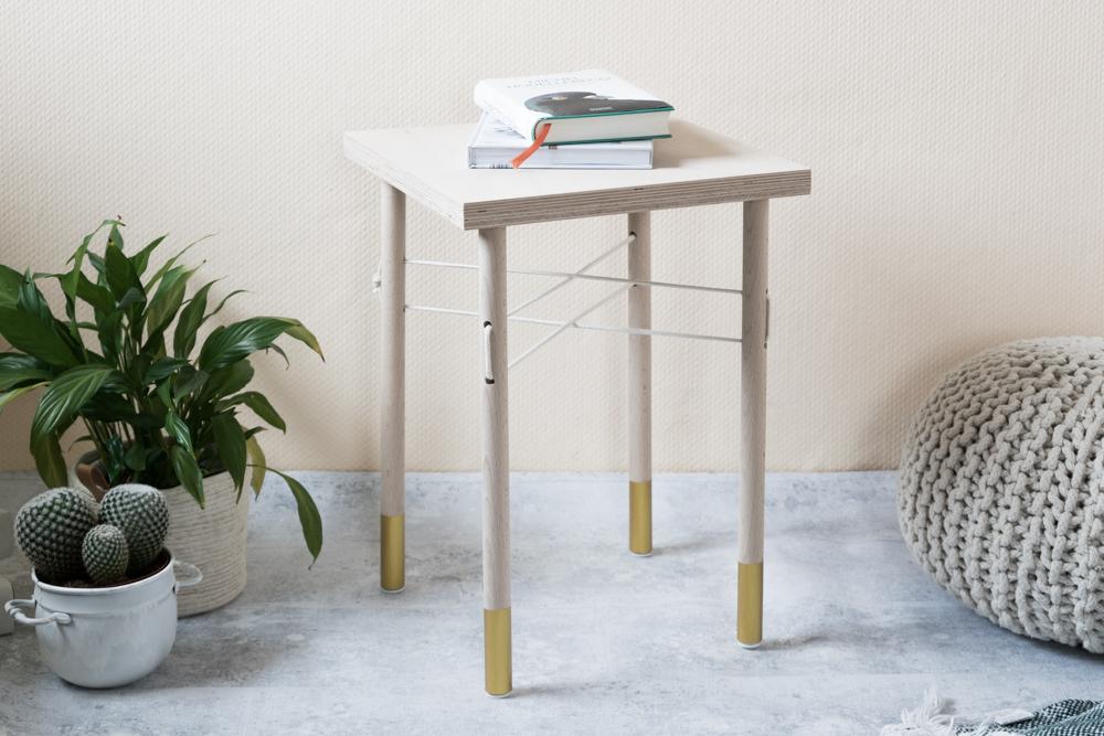 holz trifft seil wie man einen kleinen diy tisch selber. Black Bedroom Furniture Sets. Home Design Ideas