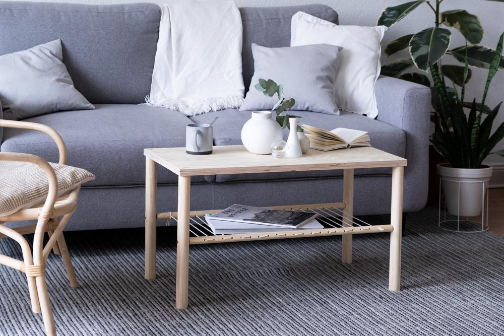 DIY Wohnzimmertisch selber bauen schereleimpapier kreative Tutorials für DIY Geschenke, DIY Möbel und DIY Deko zum Basteln