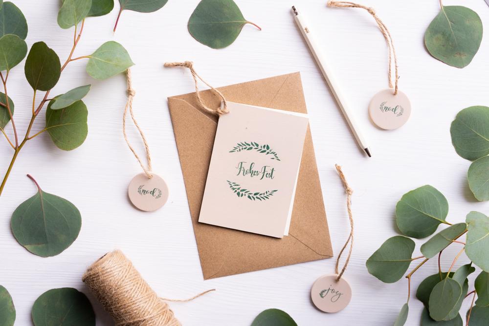 Kleine Weihnachtsgeschenke selber machen COLOP e-mark schereleimpapier kreative Tutorials für DIY Geschenke, DIY Möbel und DIY Deko zum Basteln